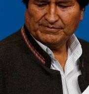 Evo Morales. Juan Karita / TT NYHETSBYRÅN
