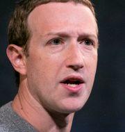 Facebook-chefen Mark Zuckerberg. Arkivbild. Mark Lennihan / TT NYHETSBYRÅN
