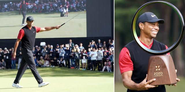 Tiger Woods.  Bildbyrån