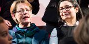 Gudrun Schyman och Gita Nabavi. Emil Langvad/TT / TT NYHETSBYRÅN