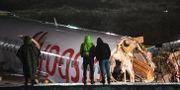 Haveriplatsen. OZAN KOSE / AFP