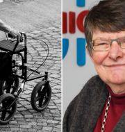 Arkivbild/Christina Rogestam, avgående ordförande för SPF seniorerna. TT/Tomas Södergren