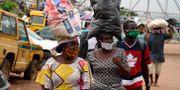 Kvinnor i Kano, Nigeria.  PIUS UTOMI EKPEI / TT NYHETSBYRÅN