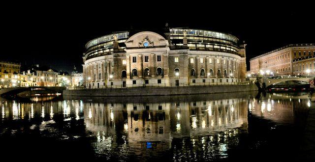 Riksdagshuset i Stockholm.  JONAS EKSTRÖMER / TT / TT NYHETSBYRÅN