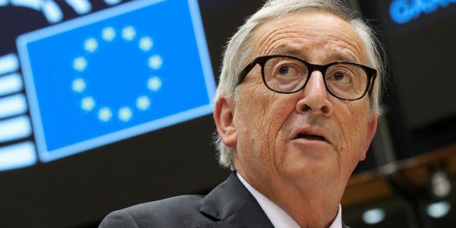 Jean-Claude Juncker. YVES HERMAN / TT NYHETSBYRÅN