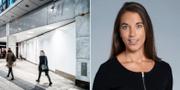 En tom H&M-butik i Stockholm. Johanna Kull, sparekonom på Avanza.  TT / Avanza
