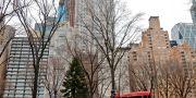 """""""Billionaires' Row"""" vid Central Park.  Bebeto Matthews / TT NYHETSBYRÅN"""