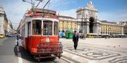 Illustration: En spårvagn i Portugals huvudstad, Lissabon.  LEIF R JANSSON / TT / TT NYHETSBYRÅN