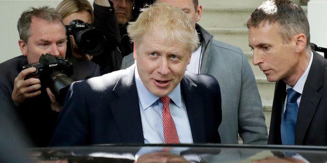 Boris Johnson.  Matt Dunham / TT NYHETSBYRÅN/ NTB Scanpix