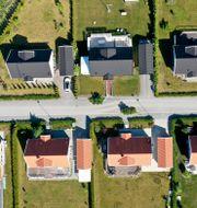 Illustrationsbild: Nyproducerade villor i ett villaområde i tätorten Bro. Fredrik Sandberg/TT / TT NYHETSBYRÅN