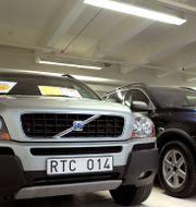 Illustrationsbild: Begagnade bilar i en bilhall hos Bilia. JANERIK HENRIKSSON / TT / TT NYHETSBYRÅN