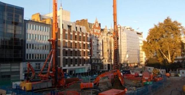 Skanskas tunnelbanebygge i London  Skanska
