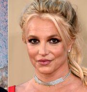 Jamie och Britney Spears. TT NYHETSBYRÅN