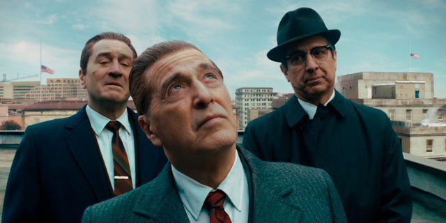 Den långa filmen The Irishman är en Netflix-produktion.  TT NYHETSBYRÅN