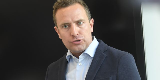 Tomas Tobé, Moderaternas rättspolitiske talesperson.  Fredrik Sandberg/TT / TT NYHETSBYRÅN