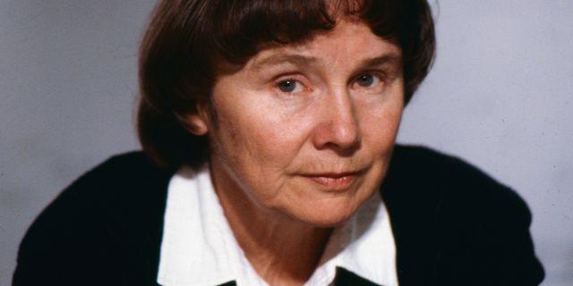 Lisbeth Palme. Bild från 1988. Leif Jansson/TT / TT NYHETSBYRÅN