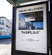 Affischer på Järntorget i Göteborg. Björn Larsson Rosvall/TT / TT NYHETSBYRÅN