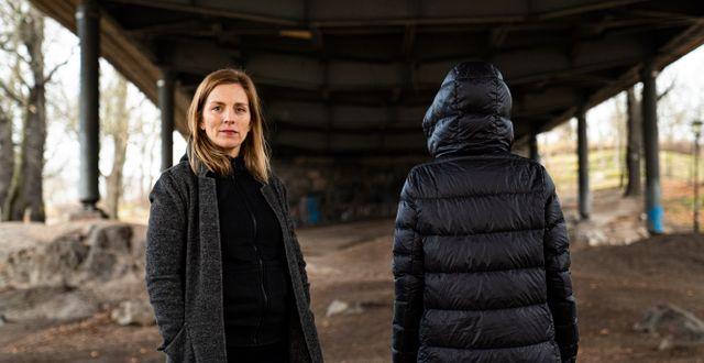 Anna Ardin och Sofia.  Lovisa Thuresson, Kalla fakta TV4