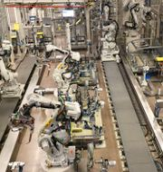 Scanias fabrik i Oskarshamn Fredrik Sandberg/TT / TT NYHETSBYRÅN