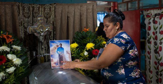 Julio Valdivia, en mexikansk reporter, dödades i september. Felix Marquez / TT NYHETSBYRÅN