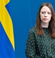 Jämställdhetsminister Åsa Lindhagen (MP). Jessica Gow/TT / TT NYHETSBYRÅN