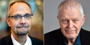 Ulf Bjereld och Thomas Hammarberg från S-förbundet Socialdemokrater för tro och solidaritet TT