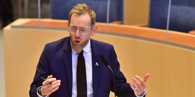 Jakob Forssmed.  Jonas Ekströmer/TT / TT NYHETSBYRÅN