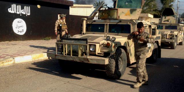 Irakiska styrkor norr om Bagdad.  Uncredited / TT NYHETSBYRÅN