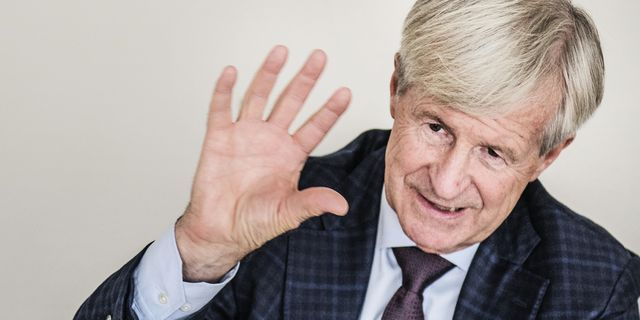 Carl Bennet är storägare och styrelseordförande i Elanders. TT.