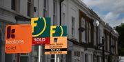 Lägenheter till salu i Hackney, London. Illustrationsbild.  DANIEL LEAL-OLIVAS / AFP
