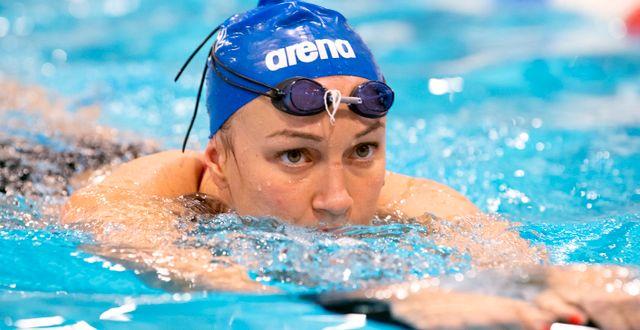 Sarah Sjöström. Henrik Montgomery/TT / TT NYHETSBYRÅN