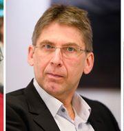 Magdalena Gerger, Jan Moström och Ann Carlsson. TT