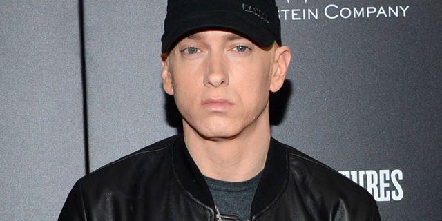 Eminem.  Evan Agostini / TT NYHETSBYRÅN