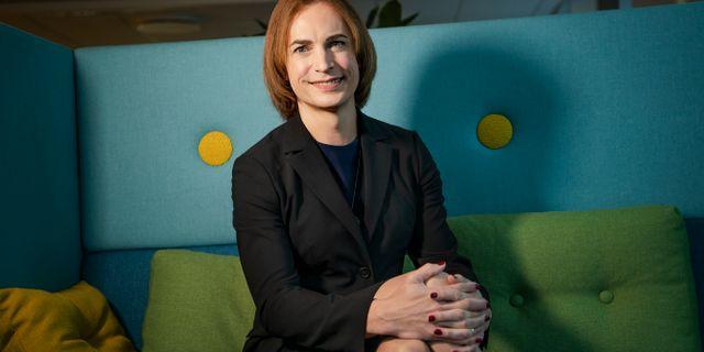 Caroline Farberger. Arkivbild. Magnus Hjalmarson Neideman/SvD/TT / TT NYHETSBYRÅN