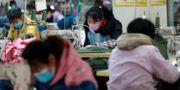 Textilfabrik i Kina. TT NYHETSBYRÅN
