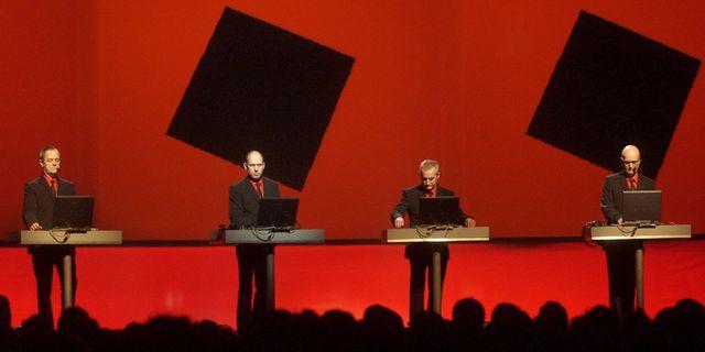 Tyska synthbandet Kraftwerk. Arkivbild. Fredrik Sandberg / TT / TT NYHETSBYRÅN