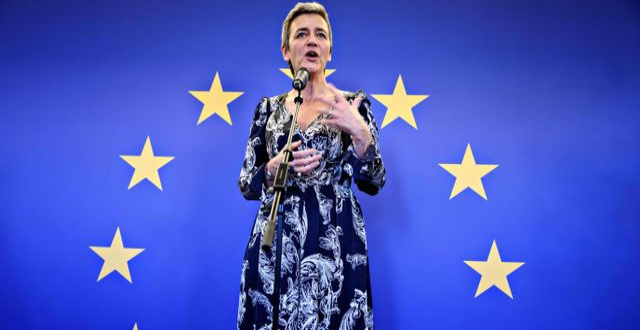 EU:s vice komissionsordförande Margrethe Vestager PHILIP DAVALI / Ritzau Scanpix