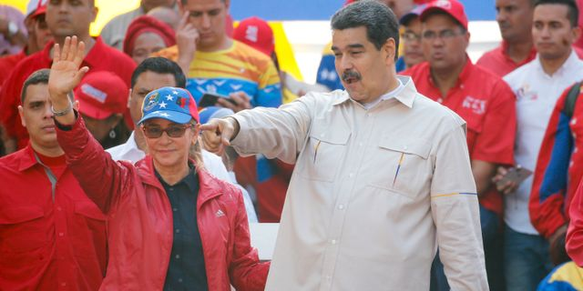 Maduro. Ariana Cubillos / TT NYHETSBYRÅN/ NTB Scanpix
