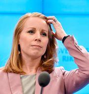 Annie Lööf (C). Anders Wiklund/TT / TT NYHETSBYRÅN
