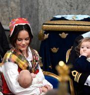 Prinsessan Madeleine, prinsessan Sofia, prins Carl Philip. Arkivbild. TT NEWS AGENCY / TT NYHETSBYRÅN