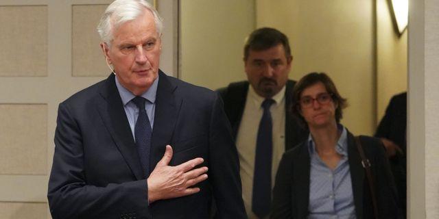 Michel Barnier, chefsförhandlare för EU i brexit. DON EMMERT / AFP