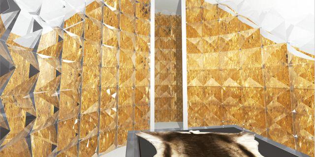 """""""Golden age"""" är skapad av Nicolas Triboulot från Frankrike och Jean-Marie Guitera från Australien. Icehotel"""