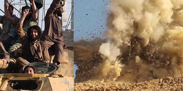 IS, Sprängning i Palmyra