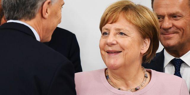 Angela Merkel. CHARLY TRIBALLEAU / AFP
