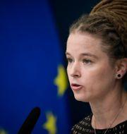Kultur- och demokratiminister samt minister med ansvar för idrottsfrågorna Amanda Lind (MP) Pontus Lundahl/TT / TT NYHETSBYRÅN