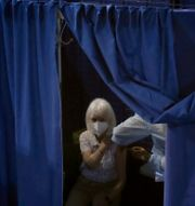 Vaccinering i Frankrike. Christophe Ena / TT NYHETSBYRÅN