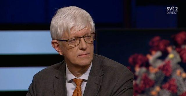 Johan Carlson. SVT