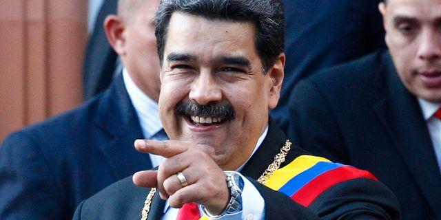 Nicolas Maduro. Leonardo Fernandez / TT NYHETSBYRÅN/ NTB Scanpix