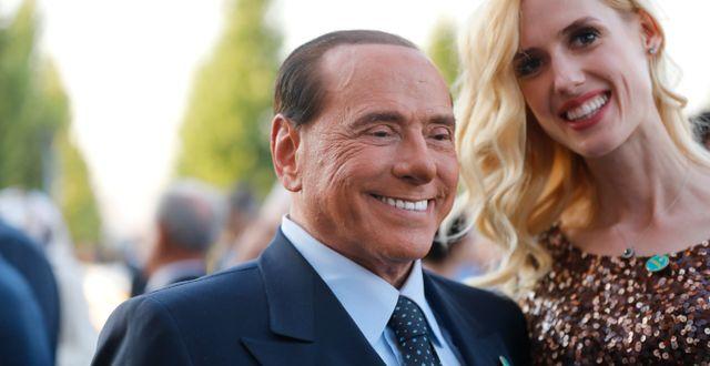 Silvio Berlusconi.  Burhan Ozbilici / TT NYHETSBYRÅN