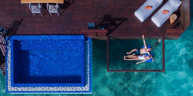Nätsäng och egen pool – mer instagramvänligt blir det inte, enligt Aftonbladet. The Grand Park Kodhipparu Resort